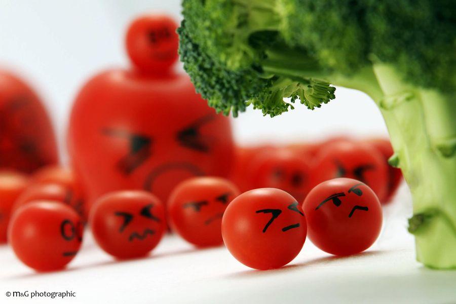 mise en scene tomates