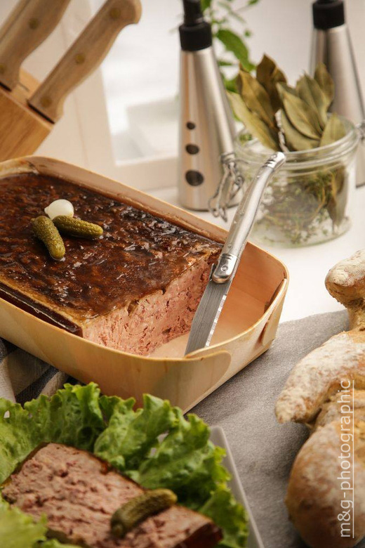 Photo culinaire alimentaire photographe annecy geneve terrine pate campagne