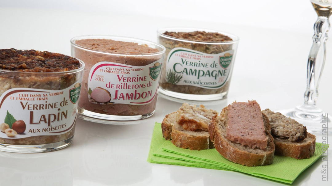 Photo culinaire alimentaire photographe annecy geneve terrine pate pot domaine picard