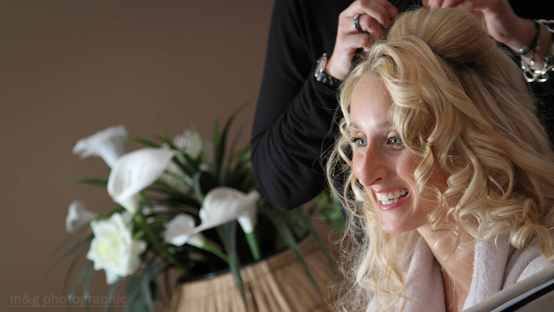 Photo photographe annecy mariage coiffure